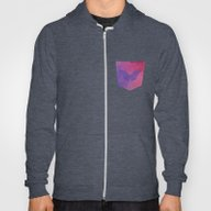 Geometric And Butterfly … Hoody