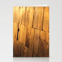 Golden Shingles  Stationery Cards