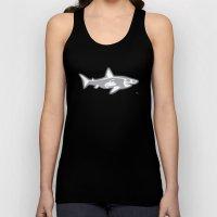 Shark X-Ray Unisex Tank Top