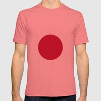Flag of Japan Mens Fitted Tee Pomegranate SMALL