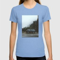 Northwest Van Womens Fitted Tee Tri-Blue SMALL
