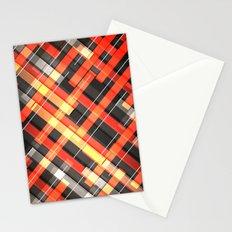 Weave Pattern Stationery Cards