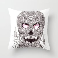 Nick Bright Throw Pillow