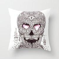 Nick Bright Throw Pillow