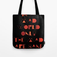 In A Mad World Tote Bag