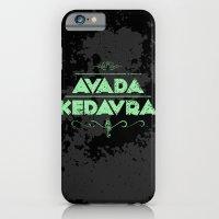 Harry Potter Curses: Ava… iPhone 6 Slim Case