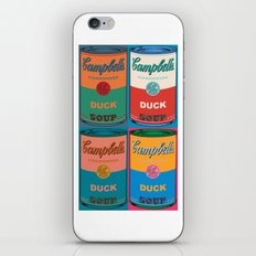 Duck Soup 4 Times iPhone & iPod Skin