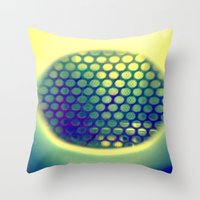 Circle-Ception  Throw Pillow