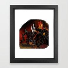 Chaos Sister Quelaag - Dark Souls Framed Art Print