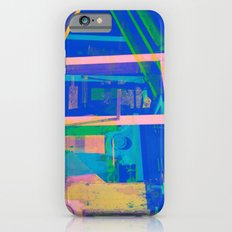 Industrial Abstract Blue 2 iPhone 6s Slim Case