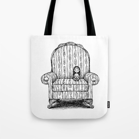 Big Chair Tote Bag