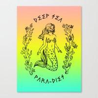 DEEP SEA PARA[DIES] Canvas Print