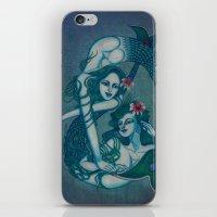 Pisces, The Sweet Dreamers: Feb 20 - Mar 20 / Original Gouache iPhone & iPod Skin