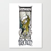 The Witches - Macbeth - … Canvas Print