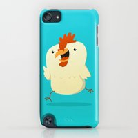 iPod Touch Cases featuring Little Chicken by Pedro Vilas Boas
