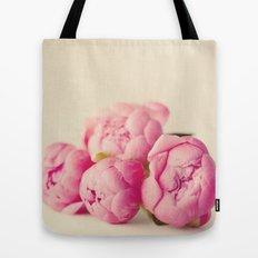 Blush Peonies  Tote Bag