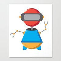 ROBOT SI Canvas Print