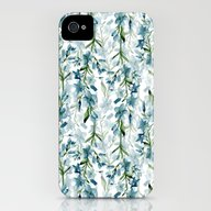Blue Branches iPhone (4, 4s) Slim Case