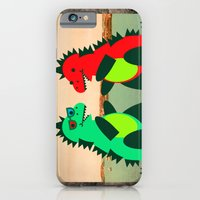 Dino Party at Sea iPhone 6 Slim Case