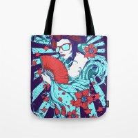 Retro Diva Tote Bag