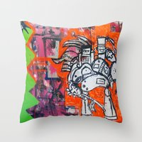 PLZ-885 Throw Pillow