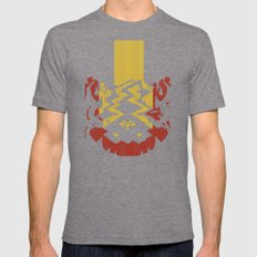 Marble Madness: Where Good Marbles Go To Die Mens Fitted Tee Tri-Grey SMALL