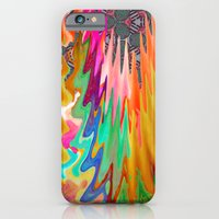 iPhone & iPod Case featuring Scarlet Fire by elikourY