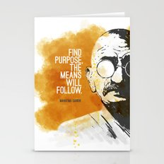 Purpose and Means Stationery Cards