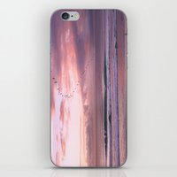 Magenta Sky iPhone & iPod Skin