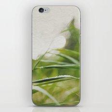 JUST GREEN. iPhone & iPod Skin