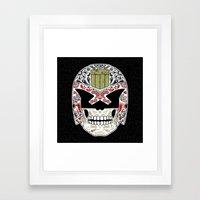 Day of the Dredd - Black Variant Framed Art Print