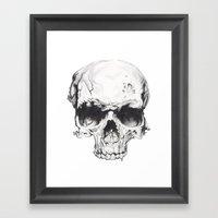 Skul Framed Art Print