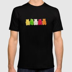 The Lineup Mens Fitted Tee SMALL Black