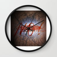 Calm DowNO! Wall Clock