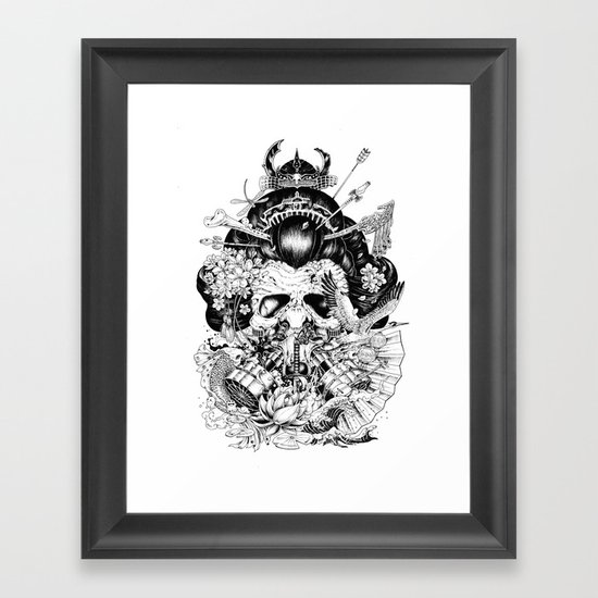 Legendary Framed Art Print By Kerby Rosanes Society6