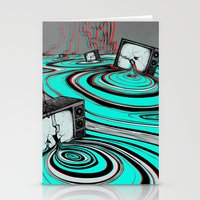 Lake of Static Stationery Cards