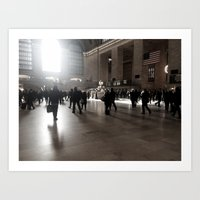 Early Morning, Grand Cen… Art Print