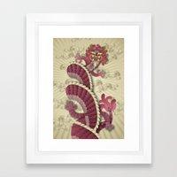 dragon delight Framed Art Print