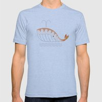 Legal Whale-Sushi Mens Fitted Tee Athletic Blue SMALL