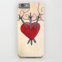 Tarot - 3 Of Swords iPhone 6 Slim Case