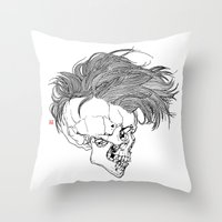 Death is New Punk Throw Pillow
