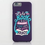 Book Is A Dream iPhone 6 Slim Case