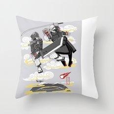 Final Samurai VII Throw Pillow