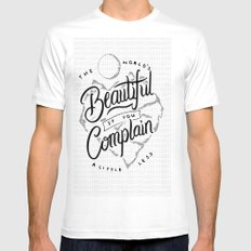 The World's Beautiful If You Complain A Little Less White Mens Fitted Tee SMALL