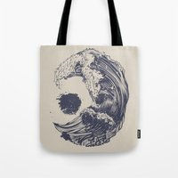 Tote Bag featuring Swell by Huebucket