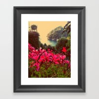 A Little Piece Of Paradi… Framed Art Print