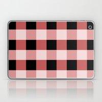 Pink squares Laptop & iPad Skin