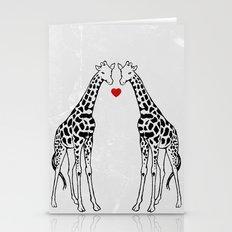 Giraffe Love Stationery Cards
