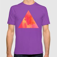 Acid Sun Mens Fitted Tee Ultraviolet SMALL