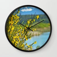 beautiful bc Wall Clock
